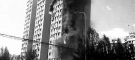 十几分钟火势吞没16楼 可燃外墙保温层之殇