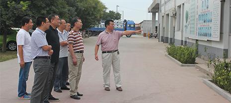 中国绝热材料协会领导莅临威尼斯人