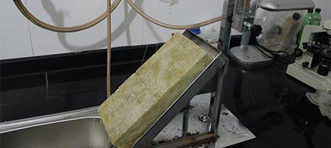 华能岩棉严格控制岩棉保温板原材料品质