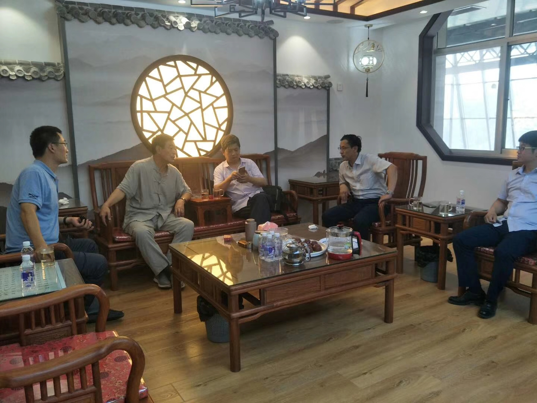 热烈欢迎中国绝热节能材料协会一体板分会秘书长王刚一行莅临引导